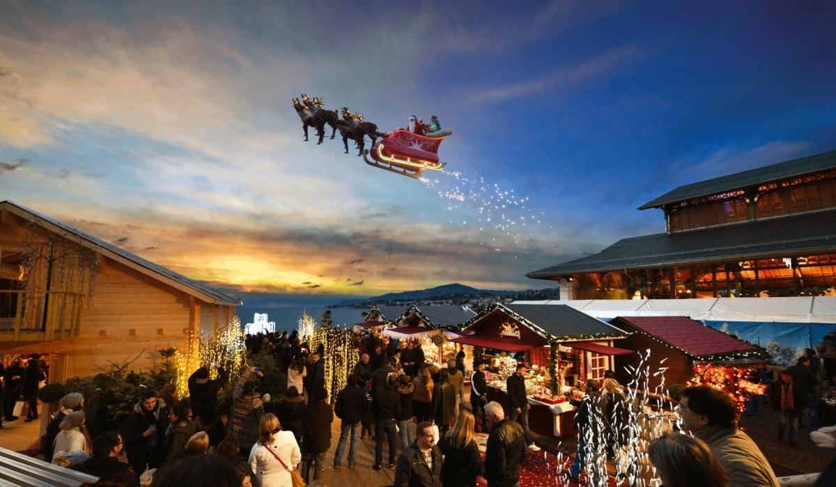 Marche De Noel Savoie Excursions de Noël les hivernales